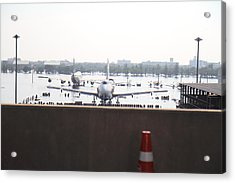 Flooding Of The Airport In Bangkok Thailand - 01136 Acrylic Print