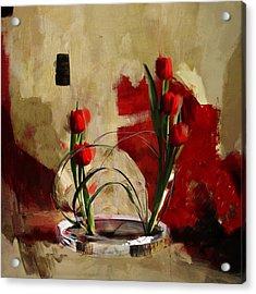 Floral 1 Acrylic Print by Mahnoor Shah