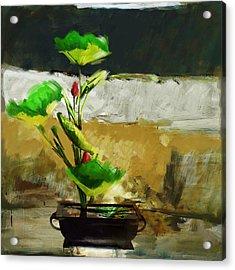 Floral 2 Acrylic Print by Mahnoor Shah