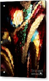 Acrylic Print featuring the photograph Floral Abstract I by Sharon Elliott