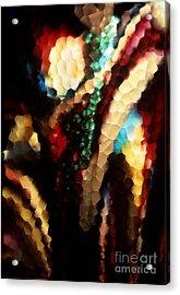 Floral Abstract I Acrylic Print by Sharon Elliott