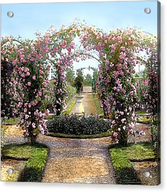 Floral Arch Acrylic Print
