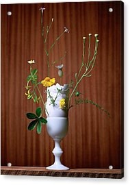 Floral Arrangement By Eve Suter Acrylic Print