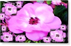 Acrylic Print featuring the painting Floral Arrangement by Catherine Lott