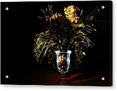 Acrylic Print featuring the photograph Floral Arrangement by David Andersen