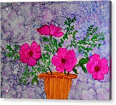Floral Arrangement Acrylic Print by Linda Brown