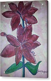 Acrylic Print featuring the photograph Floral Beauty by Joetta Beauford
