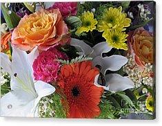 Floral Bouquet 7 Acrylic Print