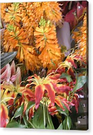 Floral Candy Acrylic Print
