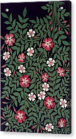 Floral Design Acrylic Print