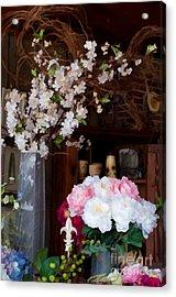 Floral Display Acrylic Print