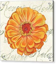 Floral Inspiration 2 Acrylic Print