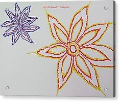Floral Joy  Acrylic Print by Sonali Gangane