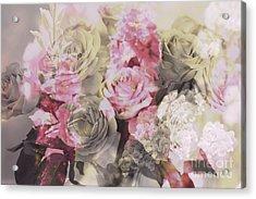 Floral Pattern Acrylic Print by Amanda Barcon