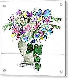 Floral Vase Acrylic Print