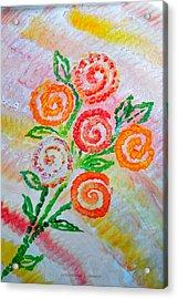 Floralen Traum Acrylic Print
