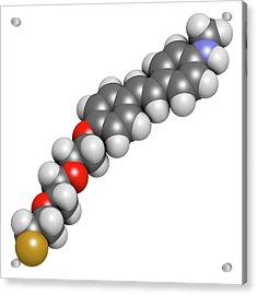 Florbetaben Radiopharmaceutical Molecule Acrylic Print