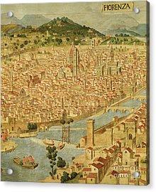 Florence  Carta Della Catena Acrylic Print