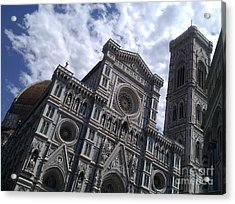 Florence Cathedral  Acrylic Print by Ted Williams