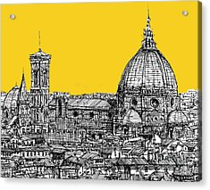 Florence Duomo  Acrylic Print by Adendorff Design