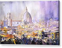 Florence Duomo Acrylic Print