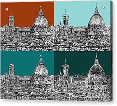 Florence Foursome 1 Acrylic Print by Adendorff Design