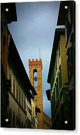 Acrylic Print featuring the photograph Florence  by Henry Kowalski