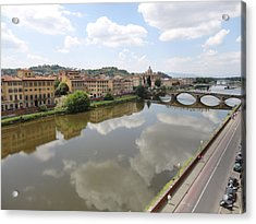 Florence In Springtime Acrylic Print