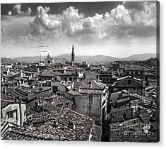 Florence Italy - 01 Acrylic Print by Gregory Dyer
