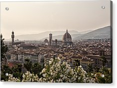 Florence Italy Acrylic Print by Melany Sarafis