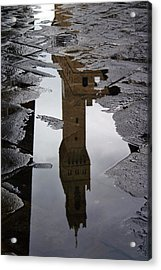Acrylic Print featuring the photograph Florence Reflection by Henry Kowalski