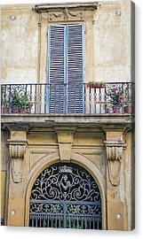 Florentine Apartment Acrylic Print