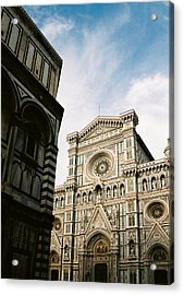 Florentine Architecture Acrylic Print by Michael  Cryer