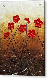 Flores De Mi Jardin 1 Acrylic Print