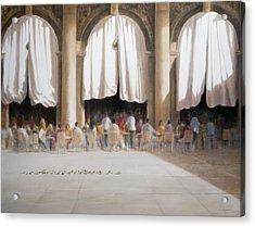 Florians, Venice Acrylic Print by Lincoln Seligman