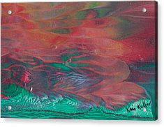 Florid Skies Acrylic Print by Kristine Kellor