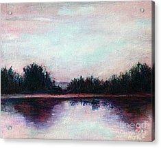 Florida Canal Acrylic Print