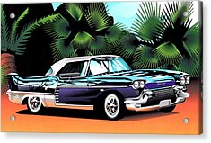 Florida Car Acrylic Print