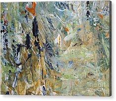 Acrylic Print featuring the painting Florida Flyaway by Nancy Kane Chapman