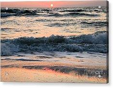 Florida Pastels Acrylic Print by Adam Jewell
