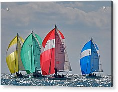 Florida Spinnakers Acrylic Print