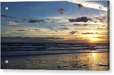 Acrylic Print featuring the photograph Florida Sunrise by Ally  White