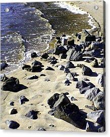 Florida Town Beach Acrylic Print