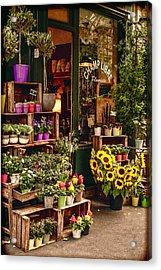 Florist - Champ Libre Acrylic Print