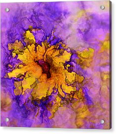 Floro - 50b Acrylic Print by Variance Collections