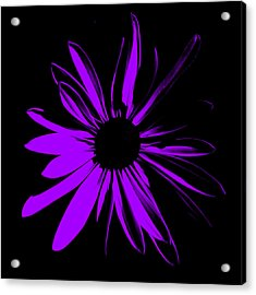 Acrylic Print featuring the digital art Flower 10 by Maggy Marsh