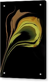 Flower Abstract Acrylic Print by Art Spectrum