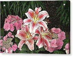 Flower Art01 Acrylic Print