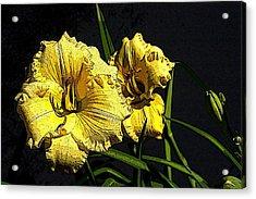 Flower Art03 Acrylic Print