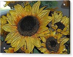 Flower Art04 Acrylic Print